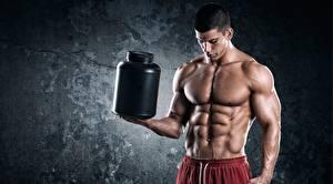 Wallpaper Man Muscle Belly Beautiful