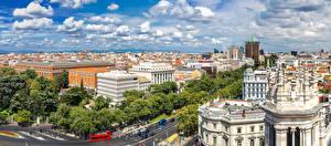 Bilder Spanien Madrid Haus Straße