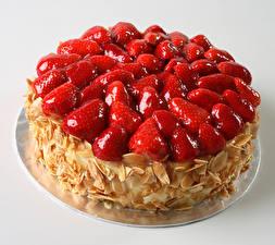 Hintergrundbilder Süßigkeiten Torte Erdbeeren Lebensmittel