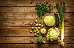 Hintergrundbilder Gemüse Kohl Bretter