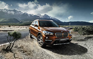 Images BMW Orange Metallic 2016 X1 xDrive25Li xLine Cars