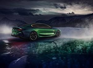 Images BMW Green Coupe M8 Gran Coupe Concept automobile