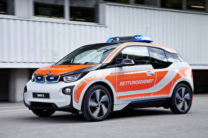 Desktop wallpapers BMW Tuning Police 2015 i3 NEF auto