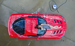 Hintergrundbilder Braune Haare Von oben Mädchens Autos