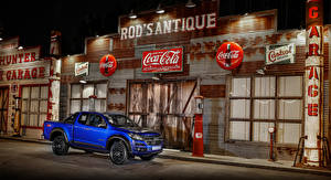 Fotos Chevrolet Blau Pick-up Metallisch 2018 Colorado Centennial XCab auto