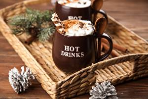 Wallpaper Drink Hot chocolate drink Cream