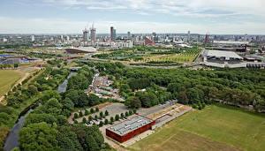 Fotos England Gebäude Flusse Park London Megalopolis Städte