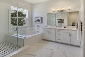 Picture Interior Bathroom Design Lamp