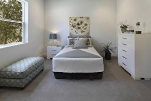 Photo Interior Design Bedroom Bed