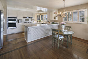 Pictures Interior Design Kitchen Table Chairs Chandelier