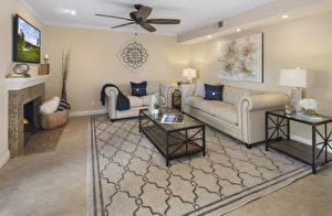 Photo Interior Design Living room Sofa Carpet