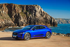 Fotos Jaguar Blau 2018 I-Pace EV400 AWD S Worldwide Autos