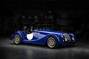 Pictures Morgan Motor Company Blue Metallic Cabriolet 2018 Plus 8  50th Anniversary auto