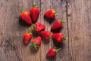 Bilder Erdbeeren Großansicht Lebensmittel