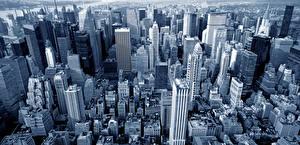 Hintergrundbilder Vereinigte Staaten Gebäude Wolkenkratzer New York City Manhattan Megalopolis