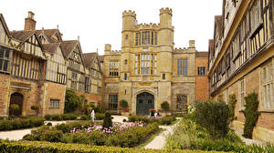 Wallpaper United Kingdom Houses Gardens Design Coughton Court Cities