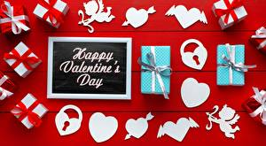 Pictures Valentine's Day Gifts Heart Red background