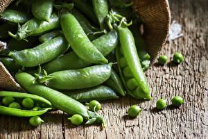 Bilder Gemüse Grüne Erbsen Hautnah Getreide das Essen