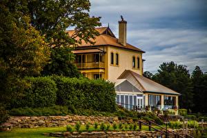 Hintergrundbilder Australien Gebäude Herrenhaus Strauch Mount Lofty Botanic Garden