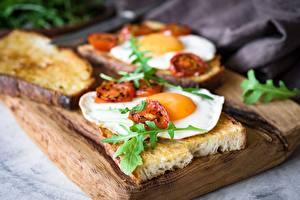 Hintergrundbilder Brot Butterbrot Spiegelei Frühstück