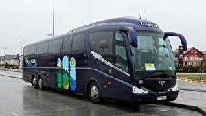 Bilder Omnibus Blau Irizar PB