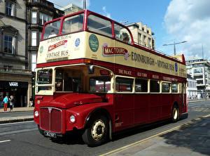 Bilder Omnibus Antik AEC Routemaster R2RH Park Royal