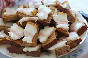Bilder Butterbrot Brot Salo - Lebensmittel