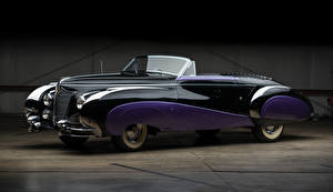Photo Cadillac Vintage Cabriolet Metallic 1948 Sixty-Two Convertible by Saoutchik auto
