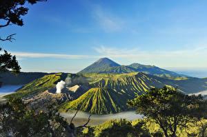 Fotos Indonesien Gebirge Landschaftsfotografie Vulkan Mount Bromo Surabaya