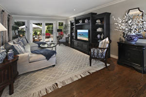 Pictures Interior Design Lounge sitting room Couch Carpet