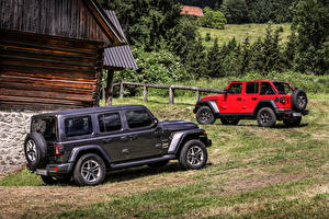 Pictures Jeep Sport utility vehicle Two 2018 Wrangler automobile