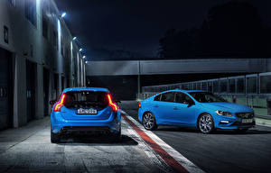 Wallpapers Volvo Two Light Blue automobile