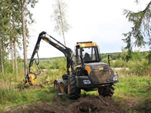 Bilder Hinten 2014-17 Ponsse Ergo 6w harvester