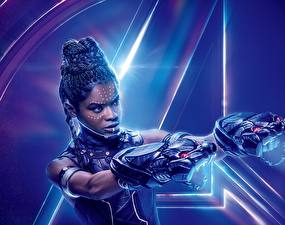 Fotos Avengers: Infinity War Neger Letitia Michelle Wright Film Prominente Mädchens