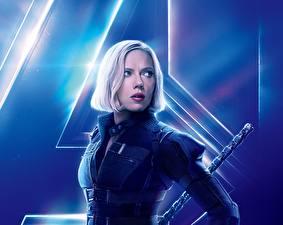 Photo Avengers: Infinity War Scarlett Johansson film Celebrities Girls