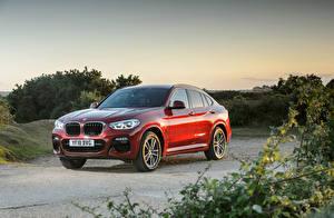 Bilder BMW Rot Metallisch 2018 X4 xDrive20d M Sport Autos