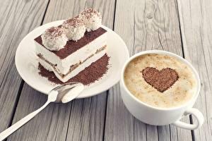 Hintergrundbilder Kaffee Cappuccino Schokolade Törtchen Herz Tasse Lebensmittel