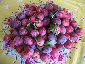 Wallpapers Fruit Plums Many