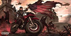 Image Homefront USA Flag The Revolution Games