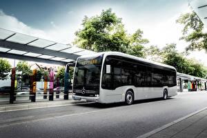 Hintergrundbilder Mercedes-Benz Omnibus 2018 eCitaro