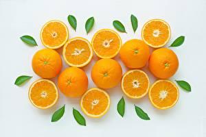 Fotos Apfelsine Textur Blatt Lebensmittel