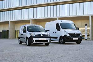 Wallpapers Renault 2 White 2018 Kangoo Renault Master Cars