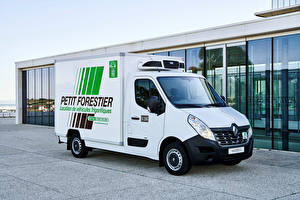 Pictures Renault Lorry White 2018 Master Z.E. Cab Chassis Cars