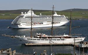 Bilder Schiffe Kreuzfahrtschiff Segeln