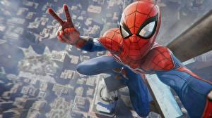 Wallpaper Spiderman hero