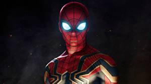 Wallpapers Spiderman hero Avengers: Infinity War Movies