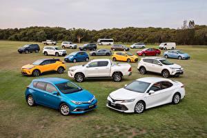 Hintergrundbilder Toyota Viel Autos