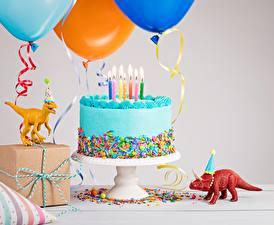 Hintergrundbilder Torte Kerzen Geburtstag