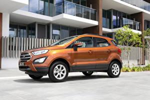 Photo Ford Orange Metallic 2018 EcoSport Trend auto