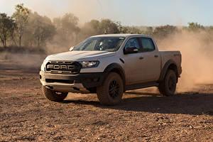 Bilder Ford Pick-up Weiß 2018 Ranger Raptor